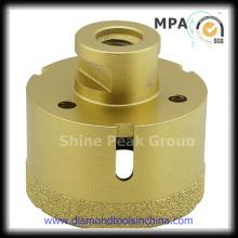Vacuum Brazed Diamond Core Drill Bit for Porcelain and Tile
