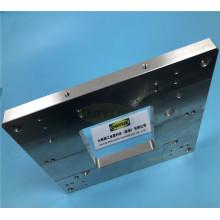 Präzisionsblech Kundenspezifische lasergeschnittene Stahlplatte