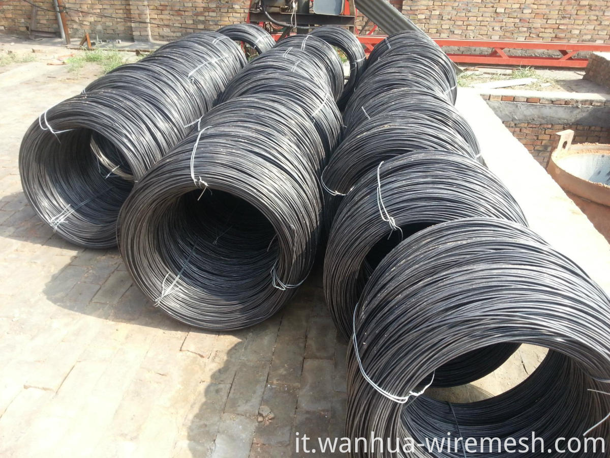 Black annealed wire 17 gauge 1.4mm