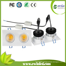 High Power 900-1100lm Recessed LED Downlights for Shop