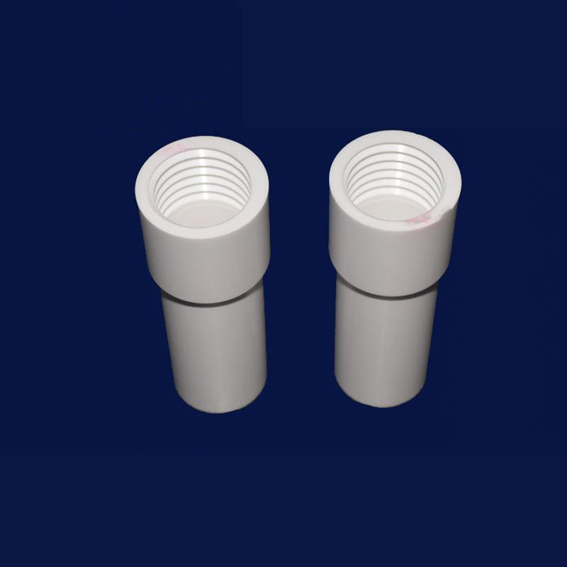 Internal Thread Ceramic Tube