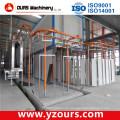Máquina de capa de polvo manual / automática para productos de Metal