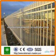 Chine fournisseur ISO9001 clôture de piquet, clôture de tube, clôtures en fer