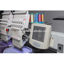 double head 15 needle falt embroidery machine / cap embroidery machines