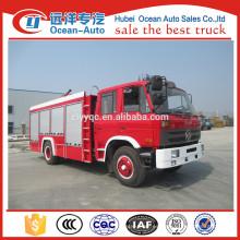 Dongfeng 4X2 5000Liters tamaño del camión de bomberos
