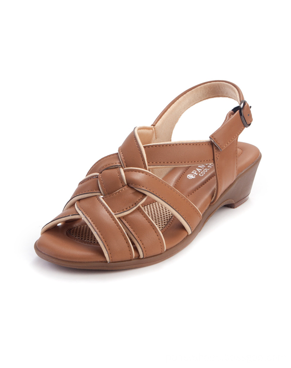 hard fold design summer sandals