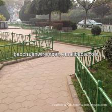 Edelstahl-Zaun für Garten mit