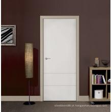 Porta de moldagem de madeira de Design de interiores para casa jovem procurando