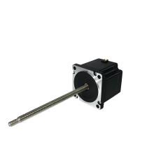 1.8 Degree 57mm NEMA 23 Screw Rod Linear Stepper Motor 23
