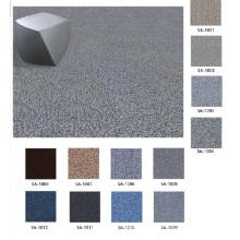 Nylon 66 carreaux de tapis anti-incendie avec support en PVC