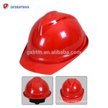 2018 nuevo diseño ABS / PE Sombrero de seguridad cómodo Casco protector Casco de seguridad ajustable