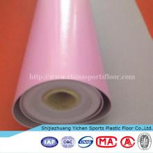 Material orgánico Ecológico TopFloor UV Coating PVC Rollos Pisos