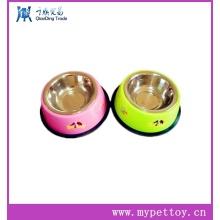Pet Bowl (acero inoxidable), comida para perros y agua Bowl