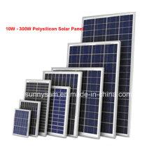 Panel de potencia solar de alta eficiencia de 100W
