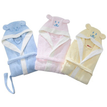 100% Bamboo Fibre Cute Bathrobe for Children