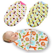 Neugeborene Säuglingsbaby-Schlafsack-Frühlings-Swaddle-Decke Großverkauf