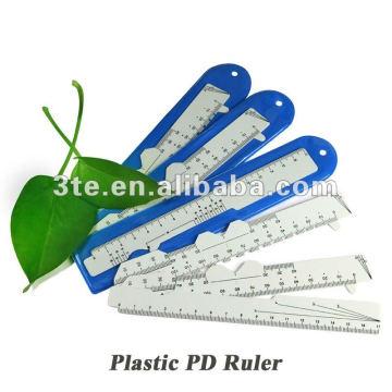 Régua óptica do diodo emissor de luz do plástico para medir a distância do aluno