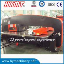 T30 tipo CNC torreta hidráulica máquina de prensa de perforación