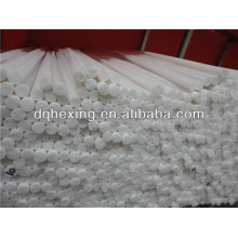Barra de teflón reciclado blanco