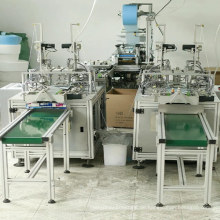 Volle automatische Gesichtsmaske, die Maschine herstellt
