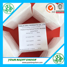 Top Factory Producing Fully Refined Paraffin Wax 58-60