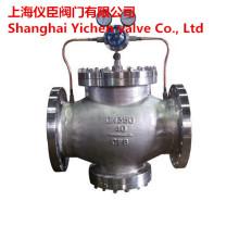 Válvula redutora de pressão de gás tipo pistão piloto Yk43X / F