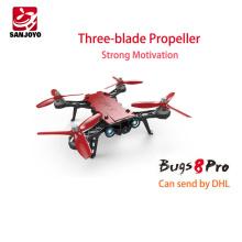 Beaucoup de stock! MJX Bugs 8 PRO haute vitesse sans brosse de course rc drone 3D flip quadcopter avec 2 modes de vol