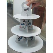 Chocolate Sache / Caja de Dispay de Currugated / caja de exhibición de la torta /