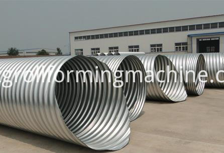 Corrugated Culvert Pipe Machinery