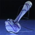 Vidro Mão Peppermint Spoon Colher Atacado para Somker (ES-HP-007)