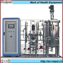 Múltiples tanques de fermentación de acero inoxidable