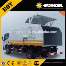 Dongfeng howo 4 * 2 caminhão de lixo pequeno