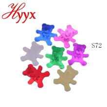 Decoraciones de la ducha de bebé HYYX Hot Sale Bear Lentejuelas / Confeti