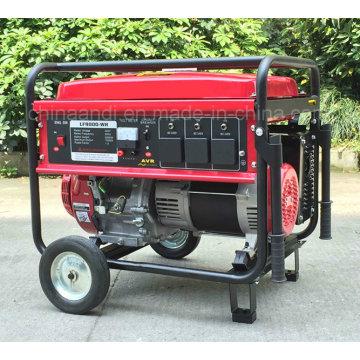 Generador portátil de la gasolina del comienzo eléctrico de 6500 vatios 6.5 kVA para el uso en el hogar