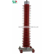110kv Tipo da subestação de poder Lightning Arrester (HYZ)