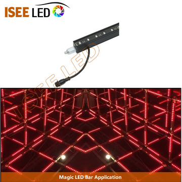 Barre rigide à LED triangulaire pour disco