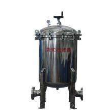 Filtro do saco de purificação da água bebendo, filtro do cartucho do saco, carcaça do filtro do saco