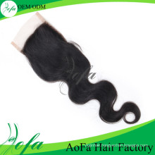 """8""""-20"""" Available Brazilian Loose Wave Human Remy Hair Lace Closure"""