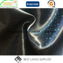 Doublure de satin de deux tons de polyester de prix direct d'usine 100%