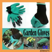 Garden Genie Gloves - Guantes de jardín para excavar y plantar No más desgastados yemas de los dedos Garras unisex en la mano derecha