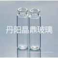 2ml del frasco de vidrio transparente Mini Tubular para el embalaje cosmético