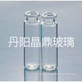 Fournir la série de flacon en verre clair tubulaire de haute qualité pour flacon poudre stérile