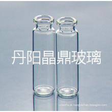 Frasco de vidro desobstruído Tubular alta qualidade para a embalagem de médico