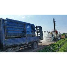 Compresor de Aire Portátil Diesel de Atlas Copco Liutech
