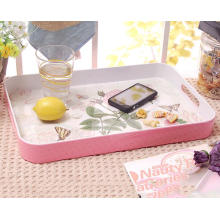 (BC-TM1025) Hot-Sell High quality Reutilizable Melamine Serving Tray
