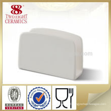 Tableware table white wet tissue holder for hotel