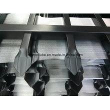 Panneau de clôture en piquet en acier plaqué en poudre