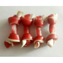 Personlized Products for Pet Training Food Knotted bone salmon flavor dog's Favorite supply to Guinea-Bissau Exporter