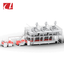 CL-SSS PP Spunbonded Non Woven Fabric Making Machine for Geotextiles Products