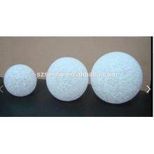 Белый декоративный светодиодный шар для рождественские украшения